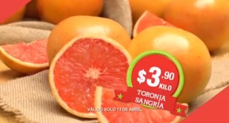 Hoy es Miércoles en Comercial Mexicana abril 13: Toronja Sangría a $3.90 el kilo y más