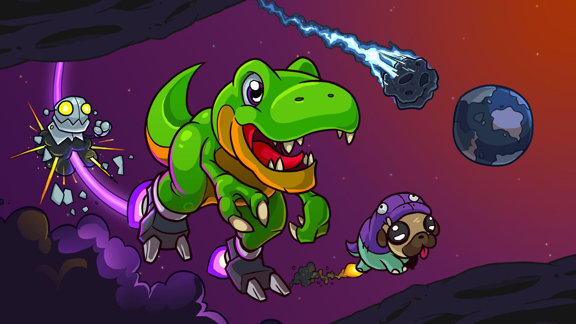 Xbox Live:  Jump jet rex para Xbox One a $103.20 tipo scot pilgrim