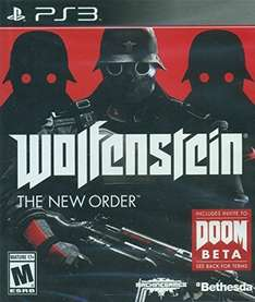 Amazon: Wolfstein: The New Order para PS3 a $135