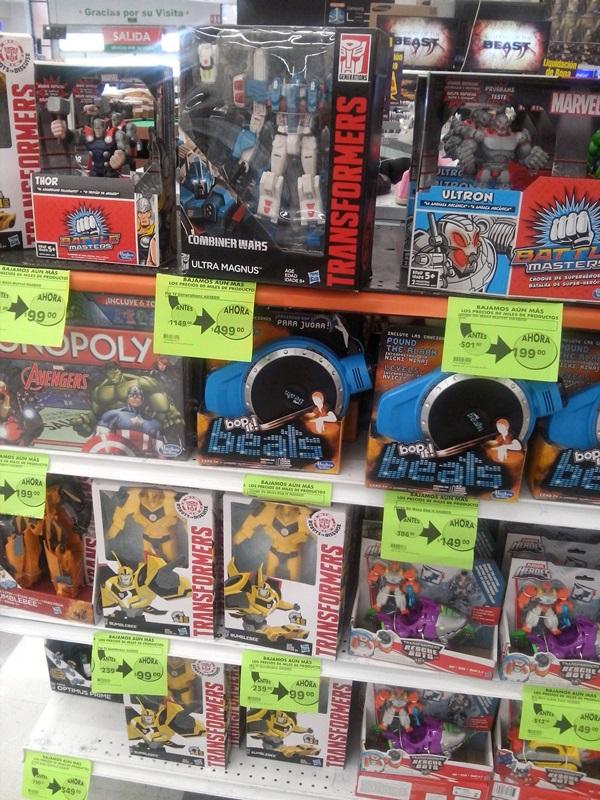 Comercial Mexicana Suc. Pilares CDMX: varios juguetes en liquidación
