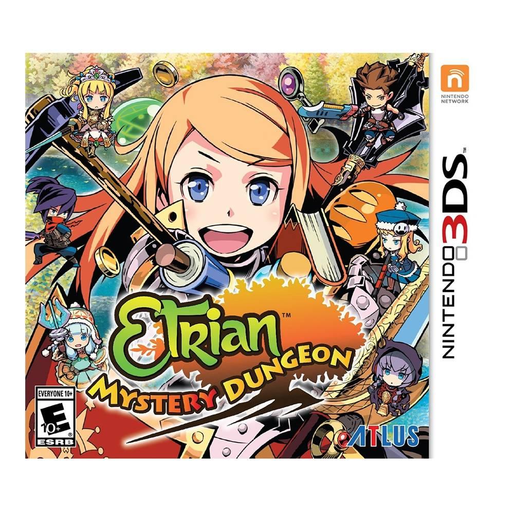 Walmart en línea: Etrian Mystery Dungeon para Nintendo 3DS a $199