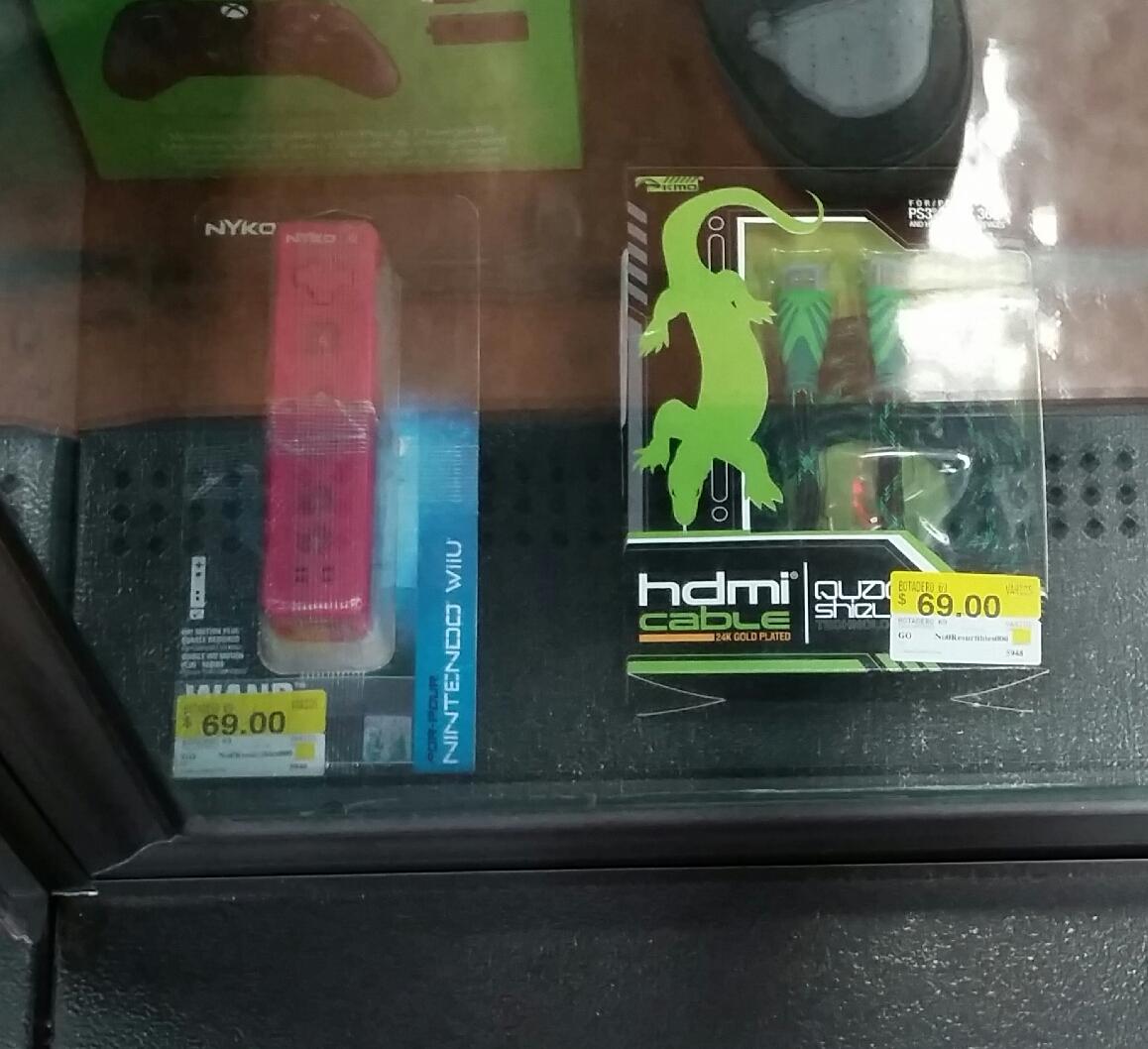 Walmart: Controles y Accesorios para Wii, PS3 y otros