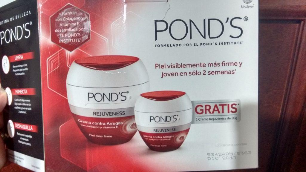 """Walmart: Pond's  rejuveness 200gr + otra de 50gr """"gratis"""""""