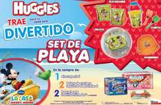 Gratis set de playa de Mickey Mouse comprando Huggies