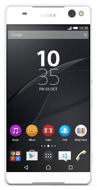 Amazon: Sony Xperia C5 Ultra Blanco y Negro a $5,789 (vendido por un tercero)