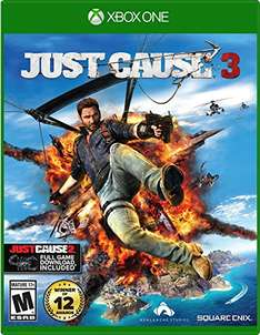 Amazon: Just Cause 3 Day One Edition para Xbox One a $657 o menos con cupón