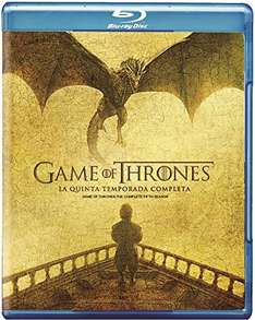Amazon: Game of Thrones Temporada 5 Blu-ray a $334
