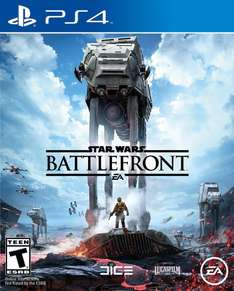 Amazon: Star Wars Battlefront para Playstation 4 a $499