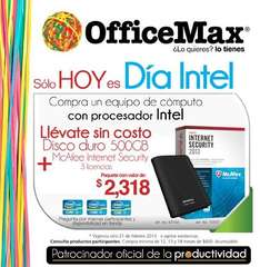 Día Intel en OfficeMax