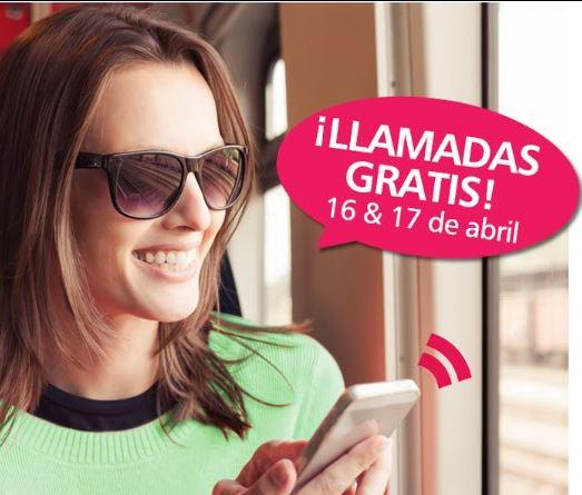 Cierto: Llamadas Gratis a celular  este 16 y 17 de Abril!