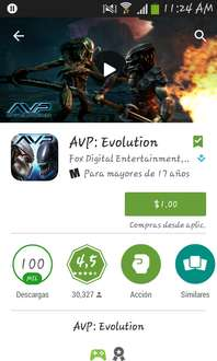 Google Play: oferta de la semana, AVP evolution a $1