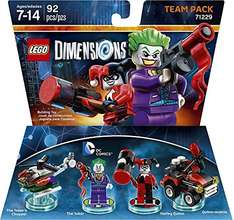 Amazon: Lego Dimensions Team Pack The Joker & Harley a $199