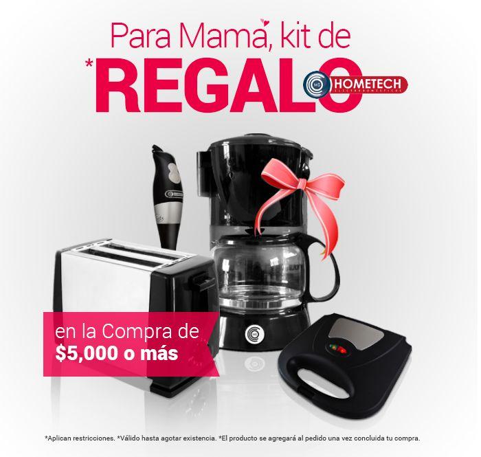 Famsa: Kit de electrodomésticos Hometech para mamá en compras mayores a $5,000