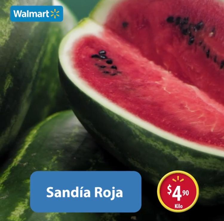 Martes de frescura en Walmart abril 19: Sandía Roja a $4.90 el kilo y más