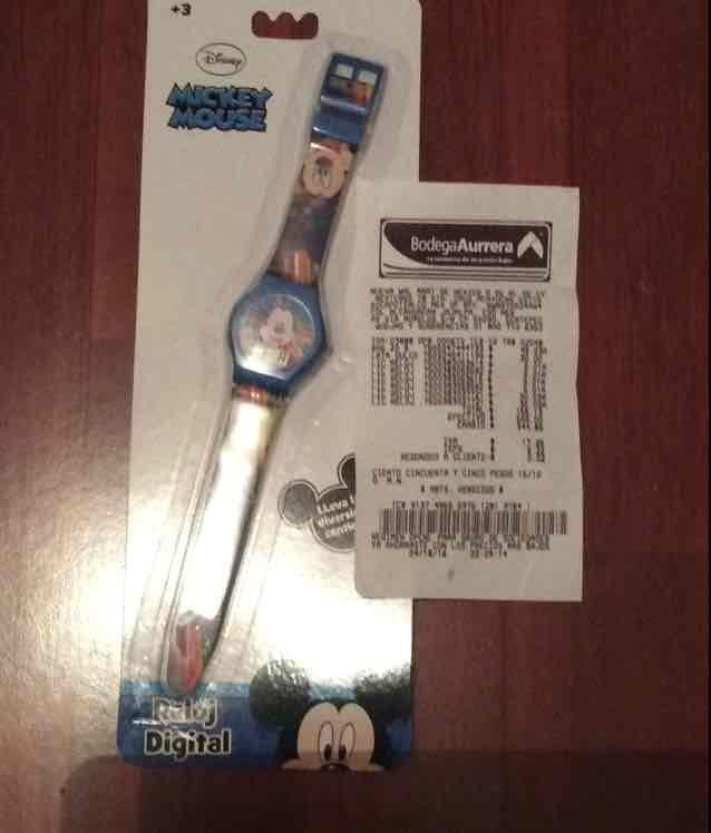 Bodega Aurrerá: reloj para niño a $5.01