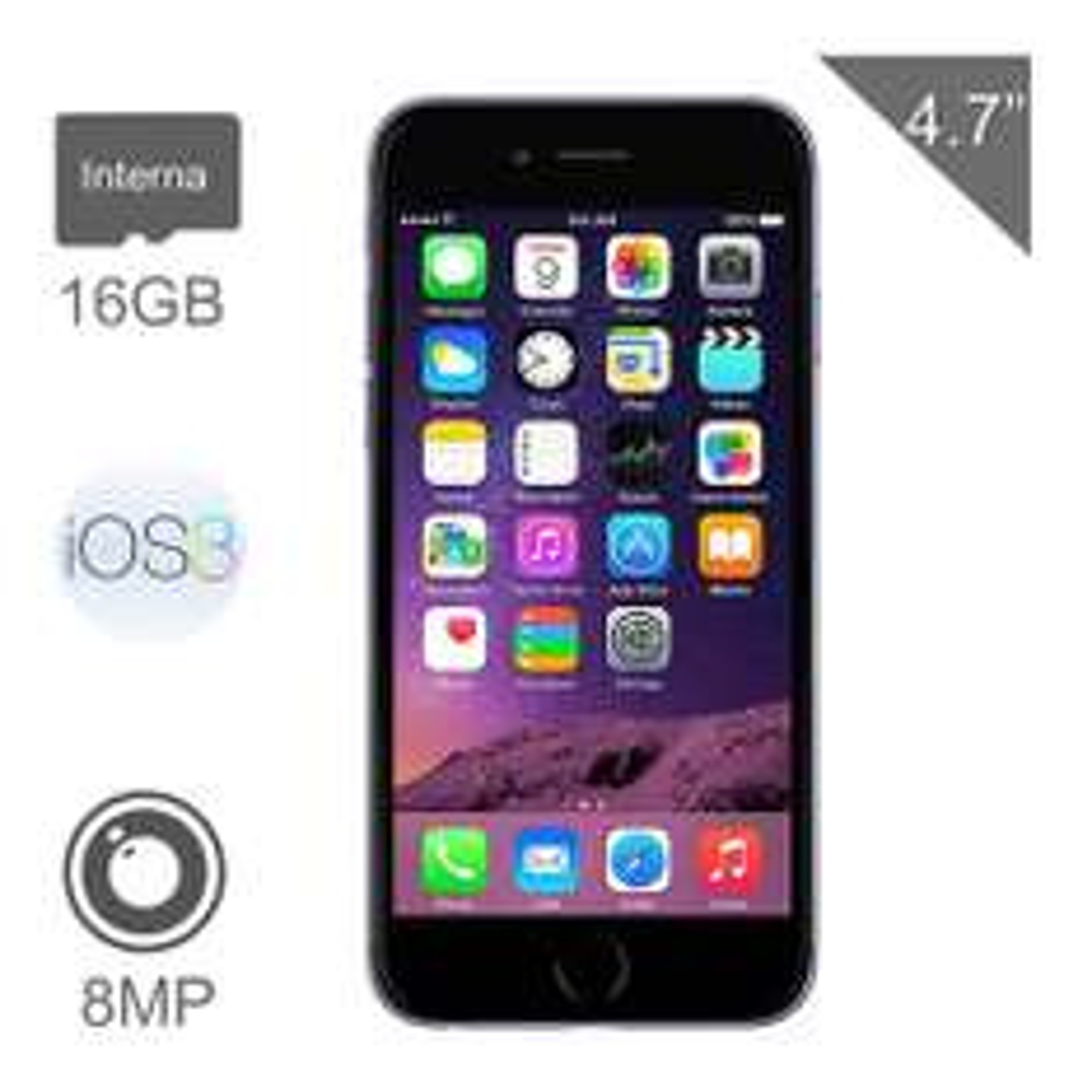 Walmart en línea: iPhone 6 16Gb Space Gray Iusacell a $7,999