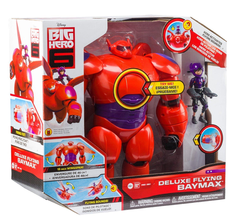 Amazon: Varios juguetes con descuento, Ejemplo Big Hero 6 Baymax 28 cm y Hiro 11 cm a $244