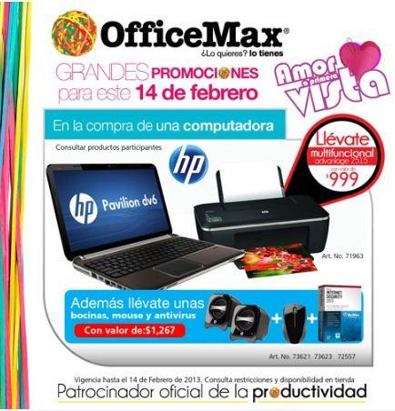 OfficeMax: promociones amor a primera vista
