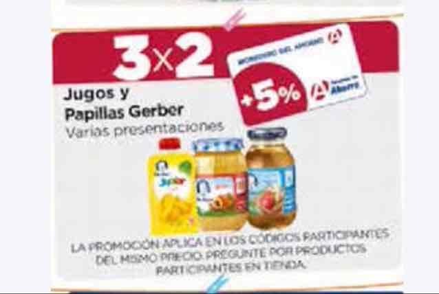 Farmacias del Ahorro: 3x2 juegos y papillas Gerber seleccionados