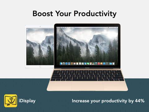 App Store: iDisplay gratis tiempo limitado. Valor real 15 dólares