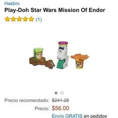 Amazon: Play-Doh Star Wars Mission Of Endor a $56