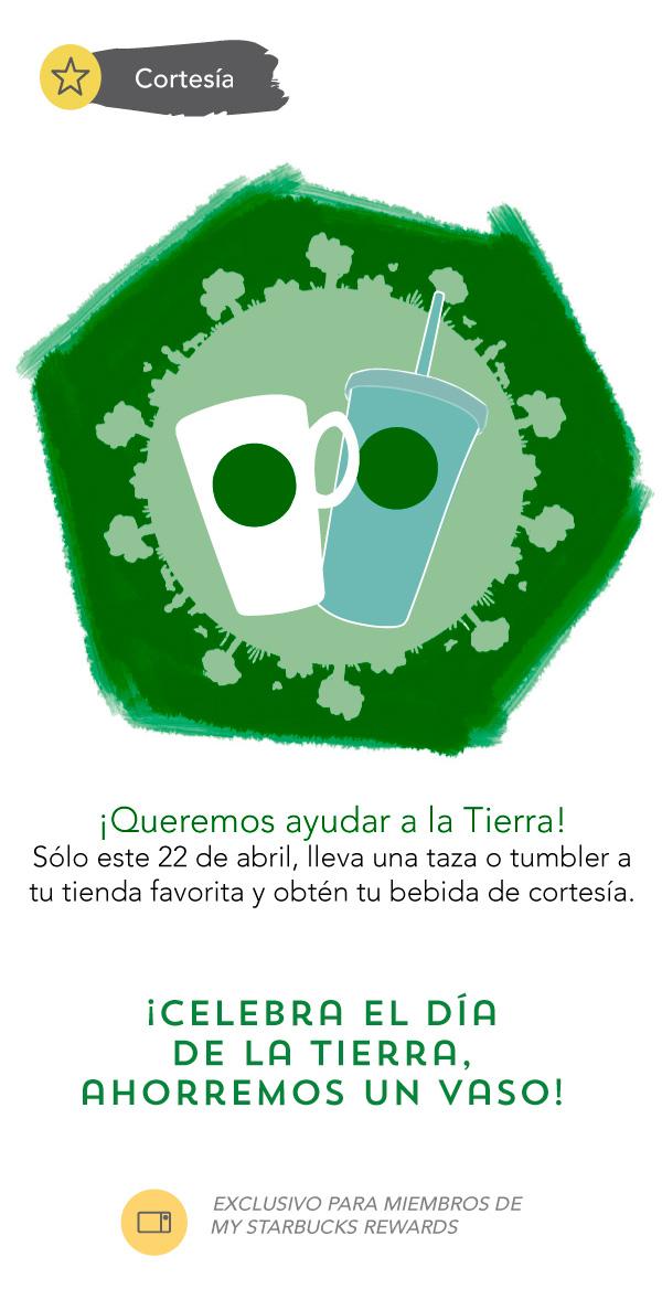 Starbucks: Bebida de cortesía para miembros de My Starbucks Rewards