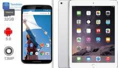 Walmart: Nexus 6 $5,499 y iPad Air 16GB $4,548 + 18 MSI con Bancomer