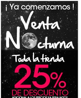 Pappomania: venta nocturna 25% de descuento en todo el sitio