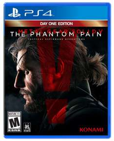 Amazon: Metal Gear Solid V The Phantom Pain Day 1 Edition a $479.60