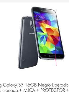 Linio: Samsung Galaxy S5 reacondicionado a $4,299