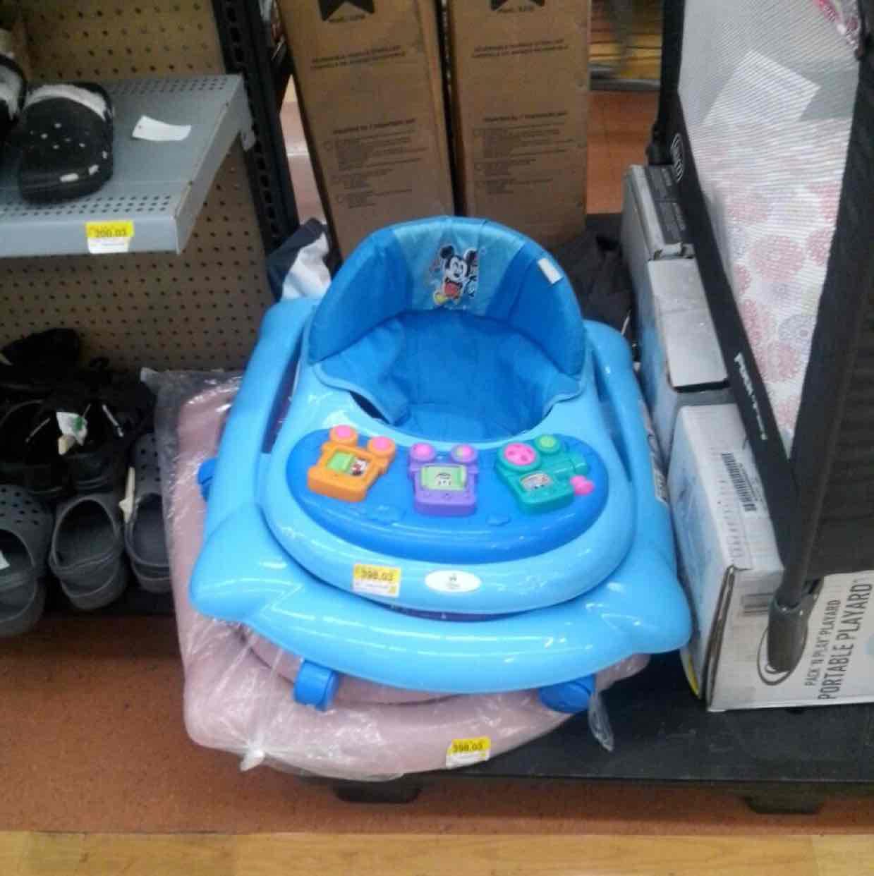 Walmart: andadera para bebe Disney Baby
