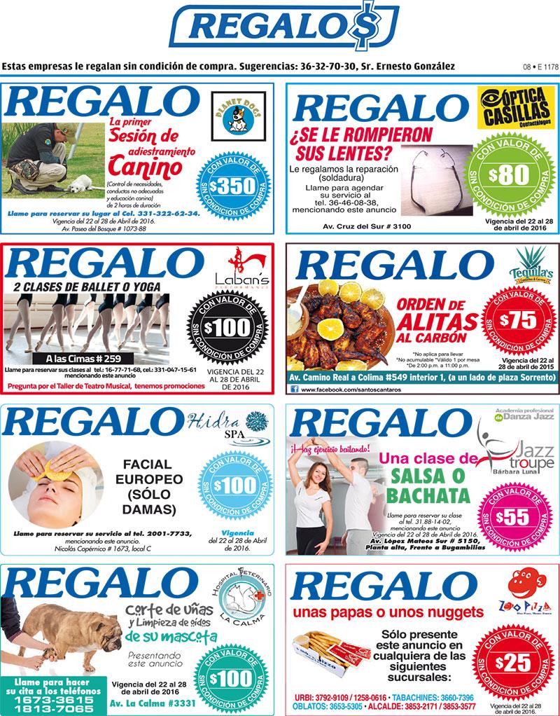 Solo Ofertas, cupones de regalo para Gdl, Monterrey y Puebla.