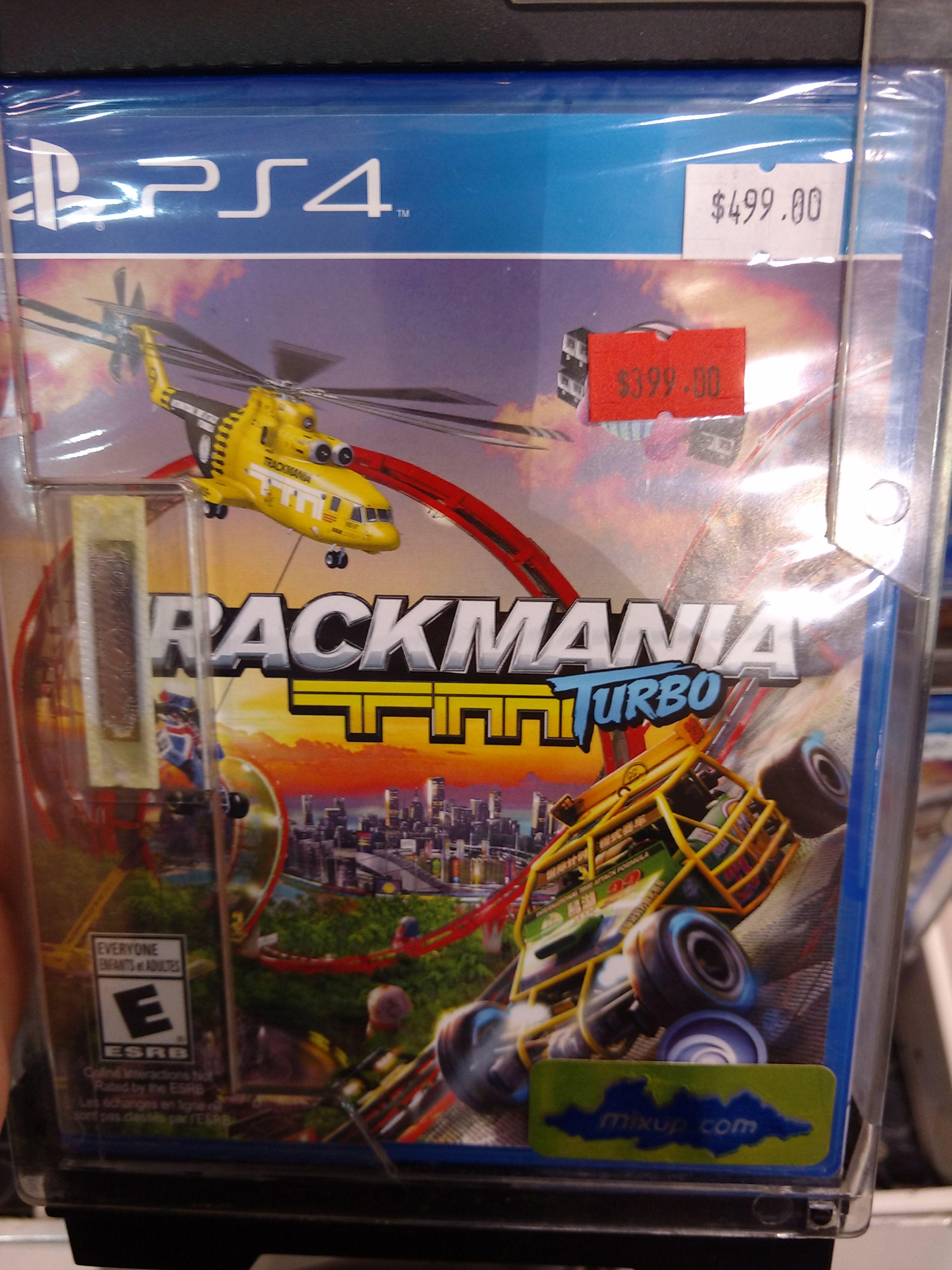 Mixup: Trackmania Turbo para PS4 a $400