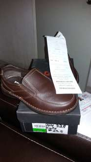 Liverpool Plaza Mayor: zapato JBE de piel $279.50