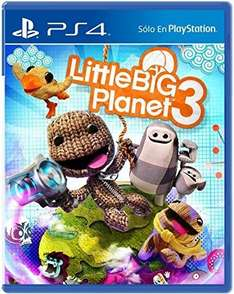 Amazon: Little Big Planet 3 y Minecraft de PlayStation 4 a $249