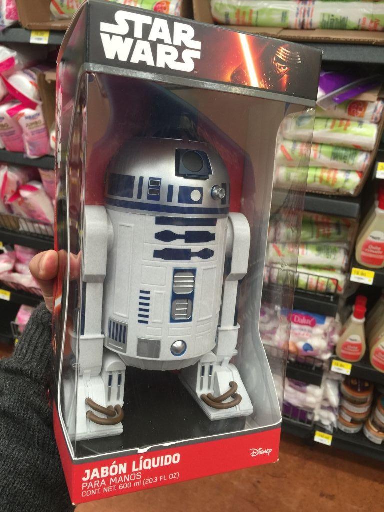 Walmart Metepec: dispensador de jabón Star Wars a $199