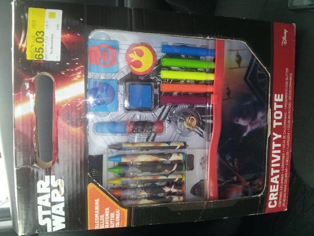 Bodega Aurrera: Kit de creatividad de Star Wars o Avengers a $10.01