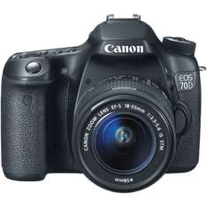 AMAZON: Canon 70D con lente de 18-55mm a $13,492 DE NUEVO DISPONIBLE