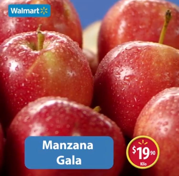 Martes de frescura en Walmart abril 26: Manzana Gala a $19.90 el kilo y más