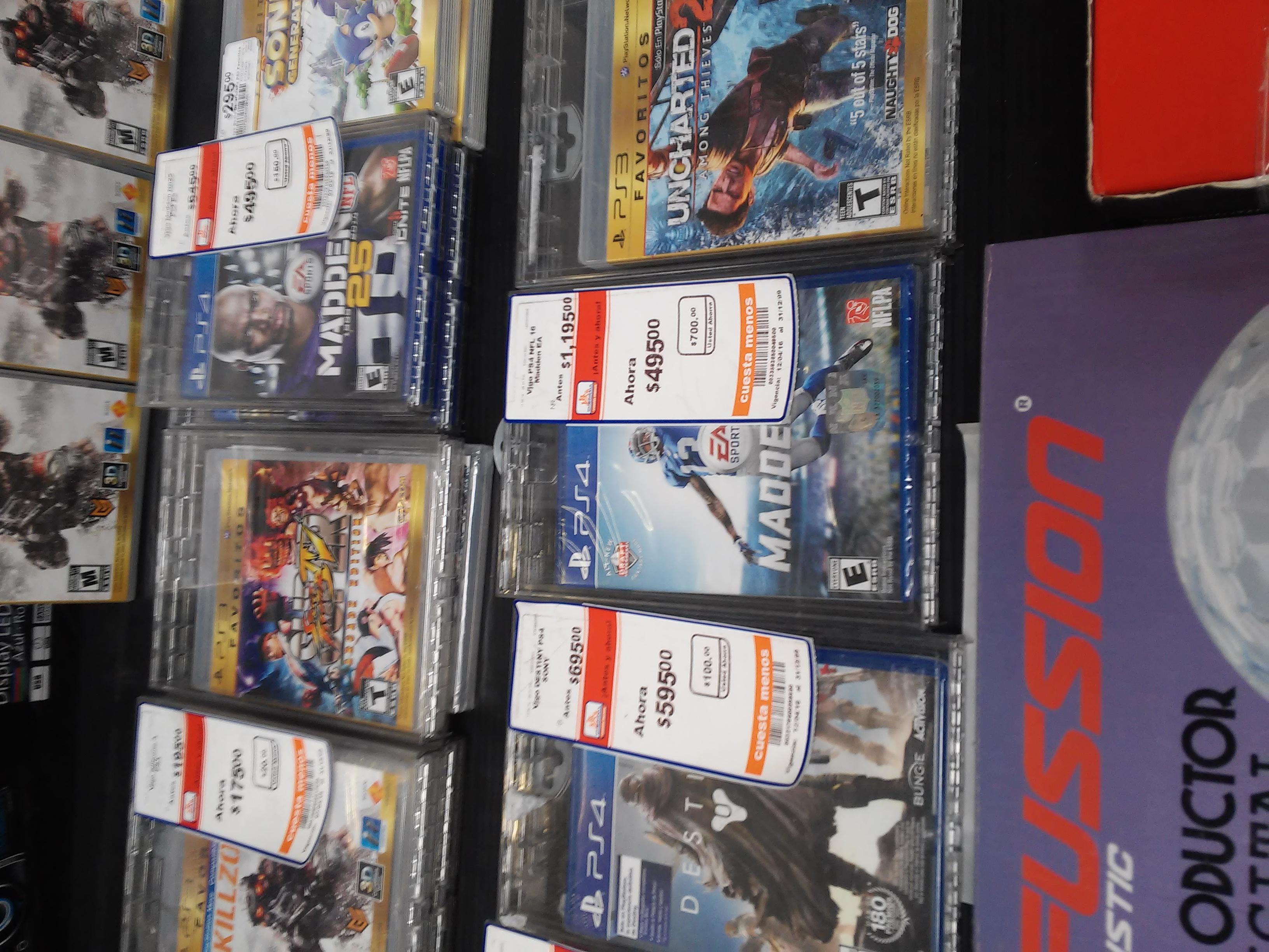 Chedraui: Madden 16 para Playstation 4 de $1195 a $495 y más
