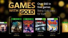 Xbox Live: Games With Gold de Mayo + Juego Extra