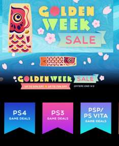 Playstation Store: Golden Week Sale