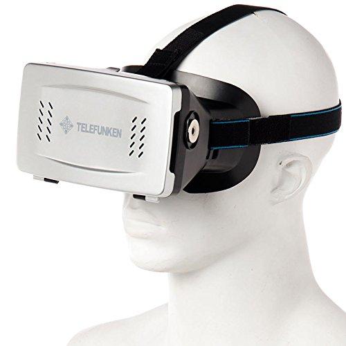 Amazon: Lentes Realidad Virtual Telefunken con Boton Magnetico para smartphones a $279