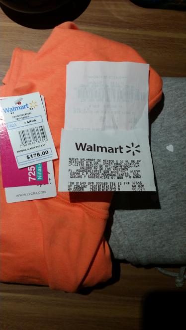 Walmart Galerias Ags: ropa de niña a $60.02 y más