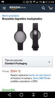 Amazon: misfit monitor fitness a $354