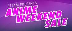 Steam: Anime Weekend Sale descuentos hasta del 90%