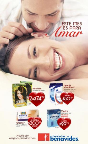 Folleto Farmacias Benavides: 30% menos en cosméticos Maybelline, 3x2 en jugos Gerber y +