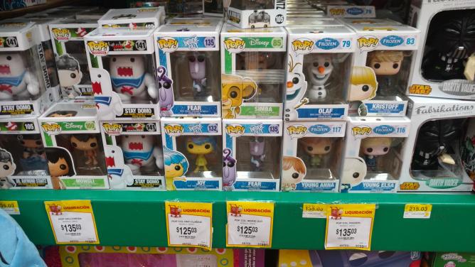 Walmart Aeropuerto: varios Funko Pop desde $125.03