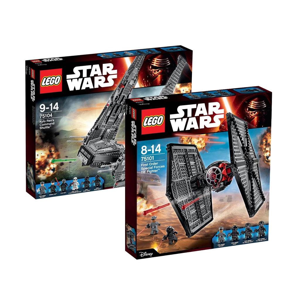 Walmart en línea: paquete 2 set LEGO Star Wars $2488 pagando con Banamex y 18 MSI