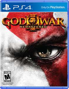 Amazon: God Of War III Remastered Playstation 4 a $239
